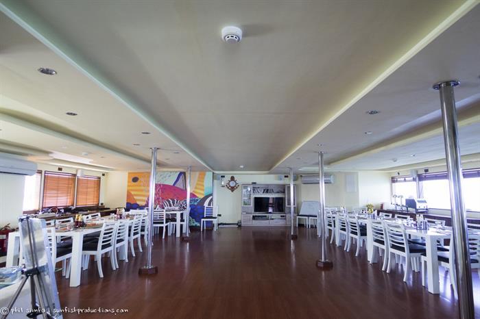 Dining Area - Soleil 2 Liveaboard