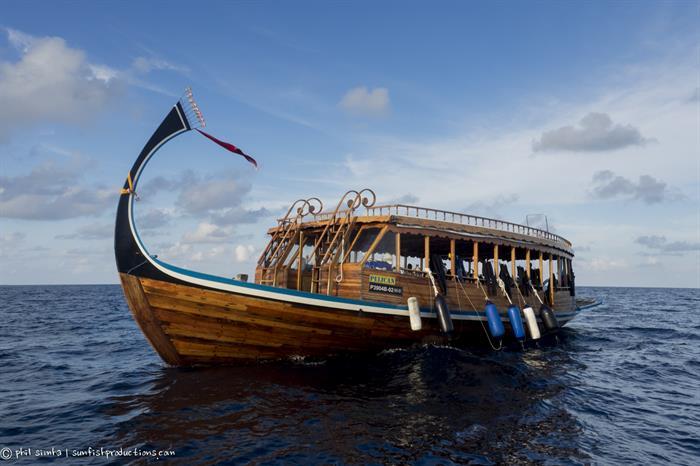 Diving Dhoni - Soleil 2 Liveaboard