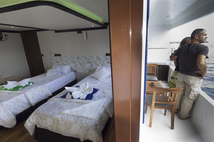 Twin Balcony Cabin - Soleil 2 Liveaboard