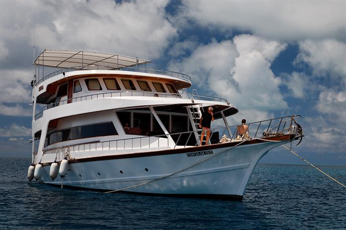 MY Sheena Liveaboard Maldives
