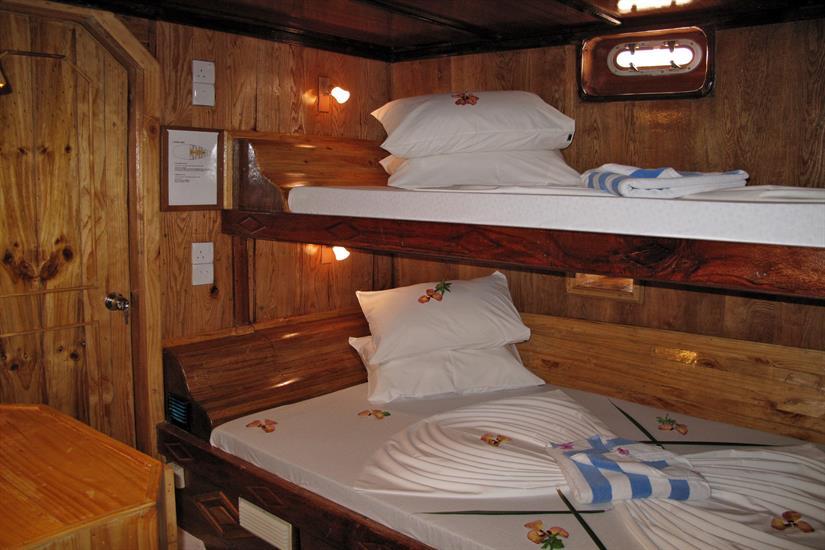 MY Sheena Liveaboard Maldives Lower Deck Cabin