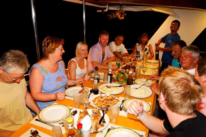 MY Sheena Liveaboard Maldives Cuisine
