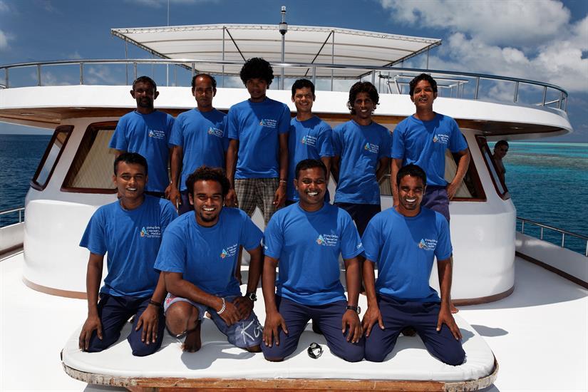 MY Sheena Liveaboard Maldives Crew