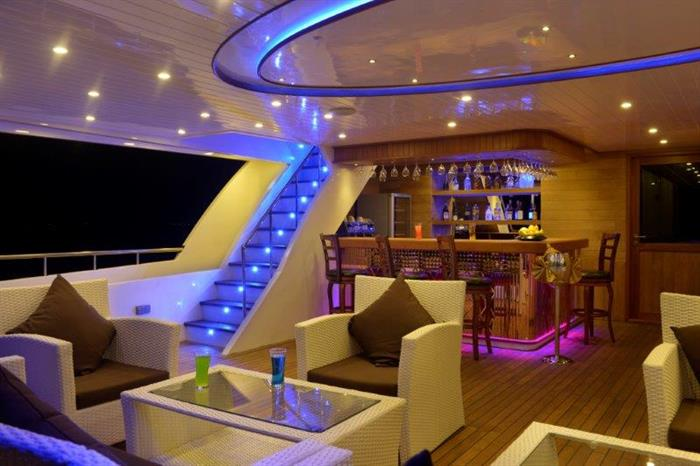 Indoor Bar Area - Blue Force One