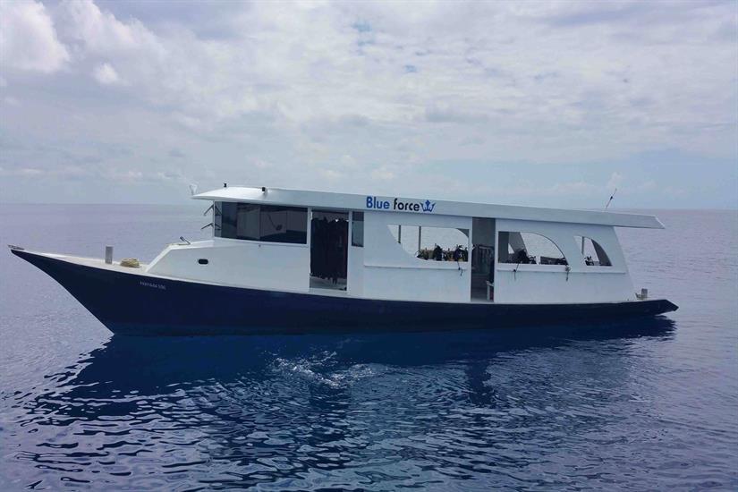 Maldives Blue Force Two Diving Dhoni