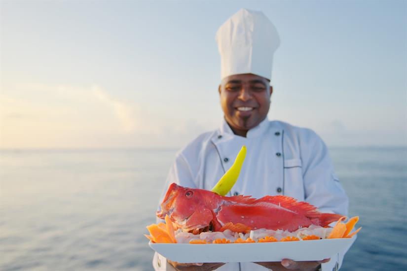 Fresh Food aboard the Maldives Blue Force Two