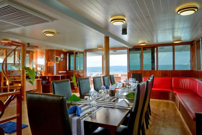 Dining Area - Maldives Blue Force Two