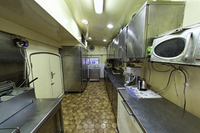 MY Grand Sea Serpent Liveaboard Red Sea Kitchen