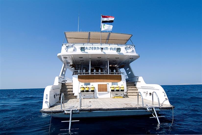MY Miss Nouran Liveaboard Red Sea Dive Platform