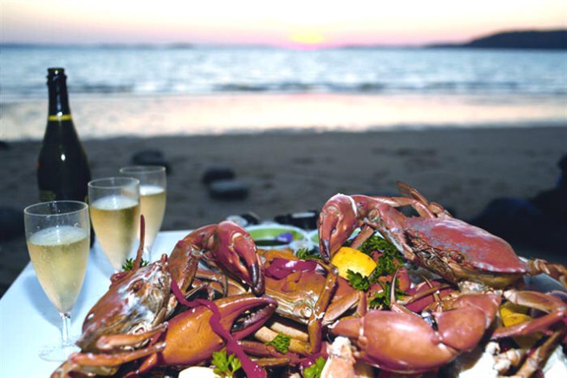 Fine dining MV Odyssey Liveaboard