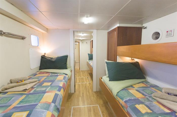 Classic Twin Cabin - Odyssey Australia