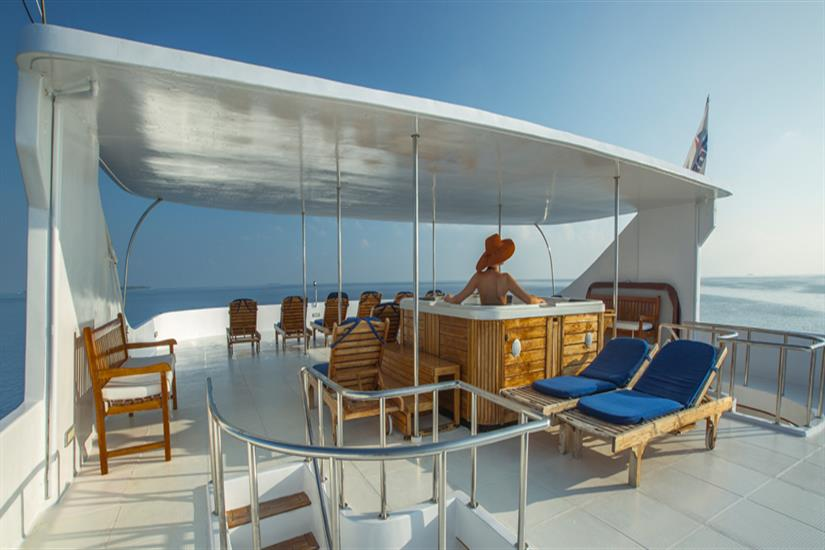 Princess Haleema Liveaboard Maldives - Sun Deck
