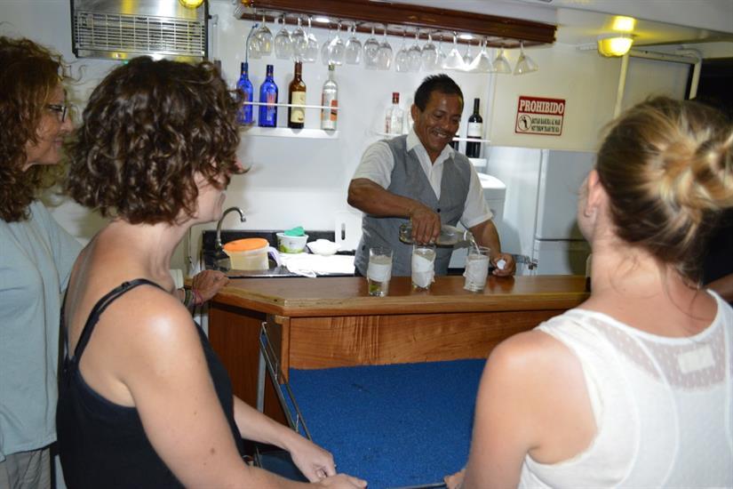 Bar Area - Astrea Liveaboard