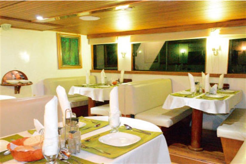 Dining Area - Astrea Liveaboard