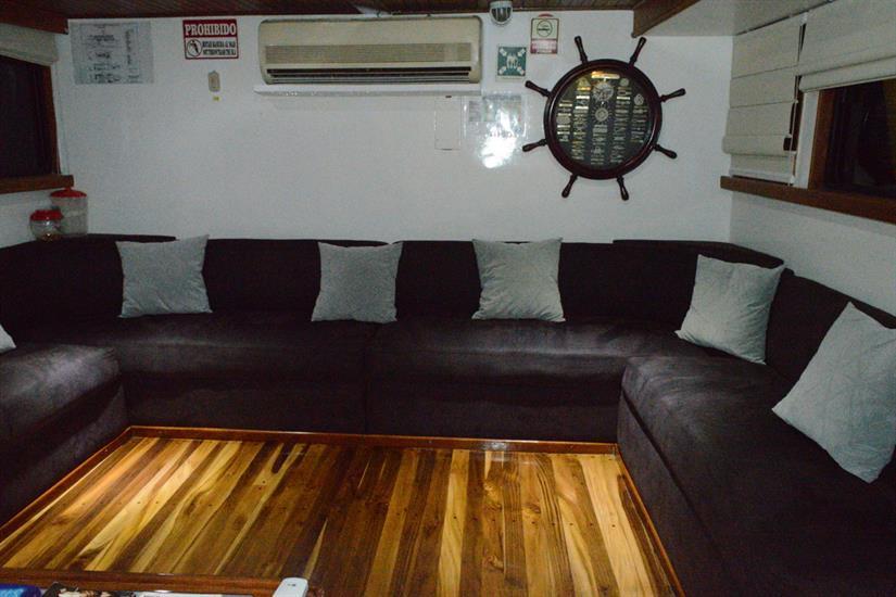 Indoor Salon - Astrea Liveaboard