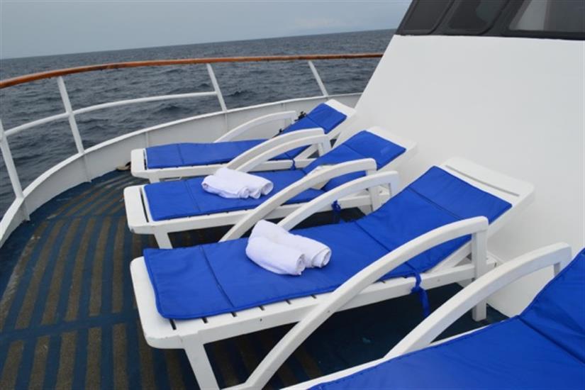 Astrea Liveaboard Sun Deck