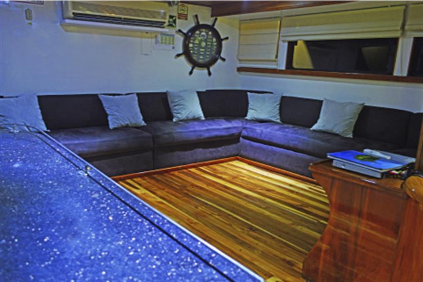Lounge Area - Astrea Liveaboard