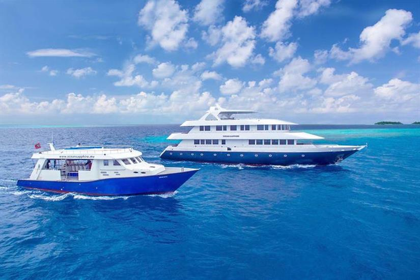 Ocean Sapphire liveaboard and diving Dhoni