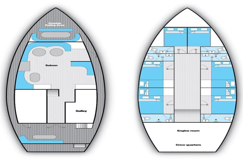 Sea Spirit Deck Plan