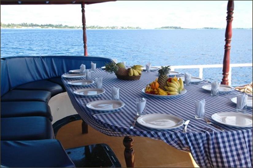 Dining Area - M/V Sea Spirit