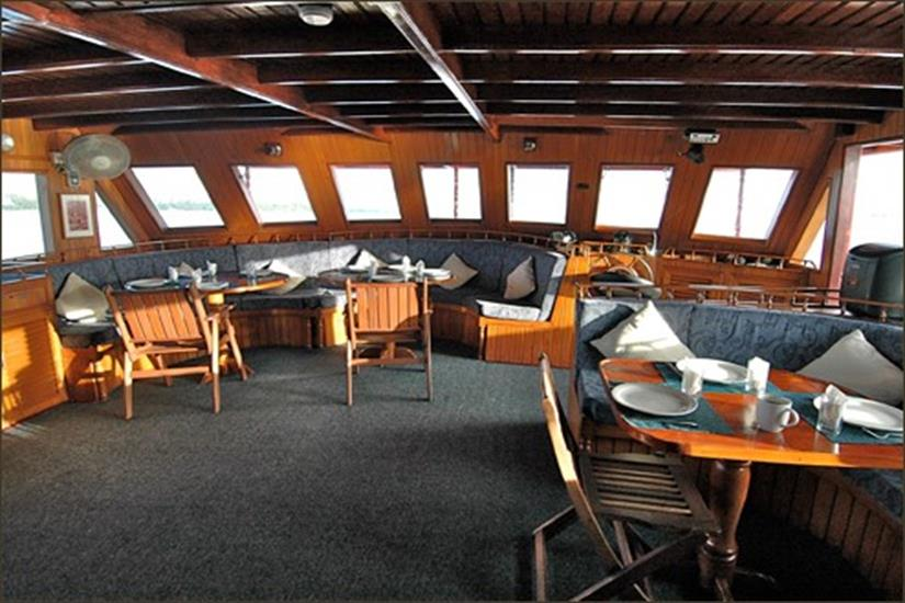 Indoor Dining Area - M/V Sea Spirit