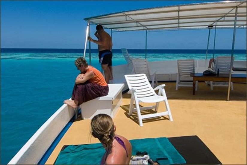Sun Deck - M/V Sea Spirit Maldives