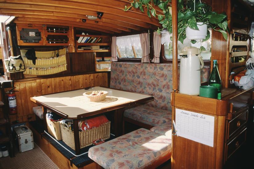 Norseman Liveaboard - Salon