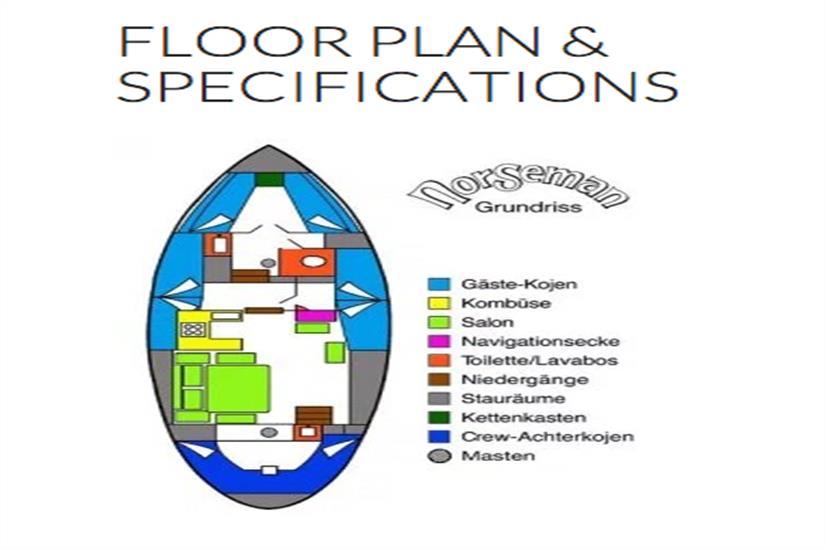Deck Plan - Norseman Liveaboard