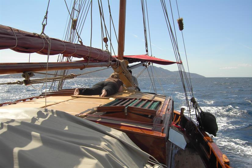 Deck Area - Norseman Liveaboard
