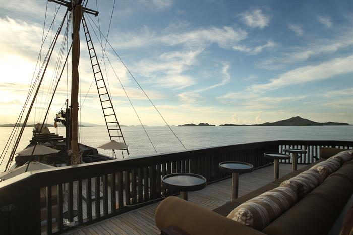 The Deck - Alila Purnama Liveaboard