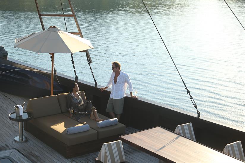 Alila Purnama Liveaboard - The Deck