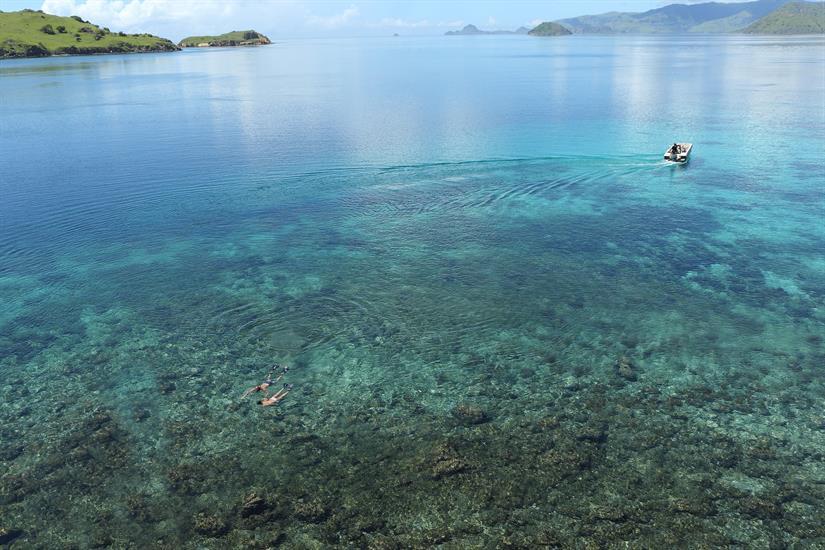 Crystal Clear Waters in Komodo