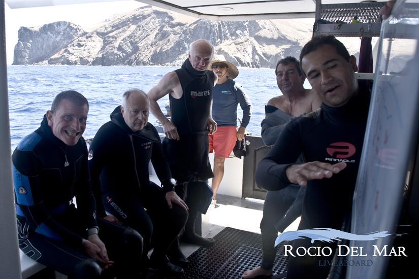 Dive Briefing - Rocio del Mar