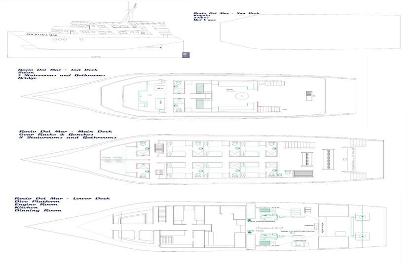 Rocio Del Mar Deck Plan