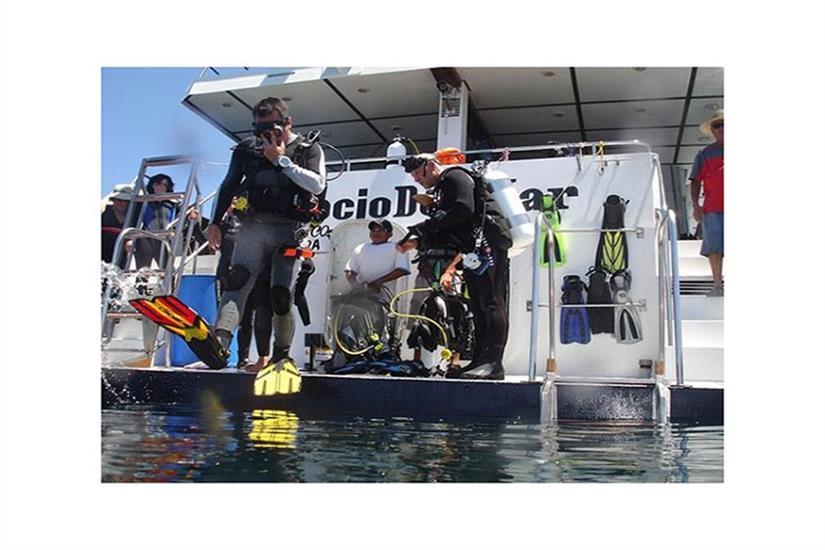 Dive Platform - Rocio del Mar