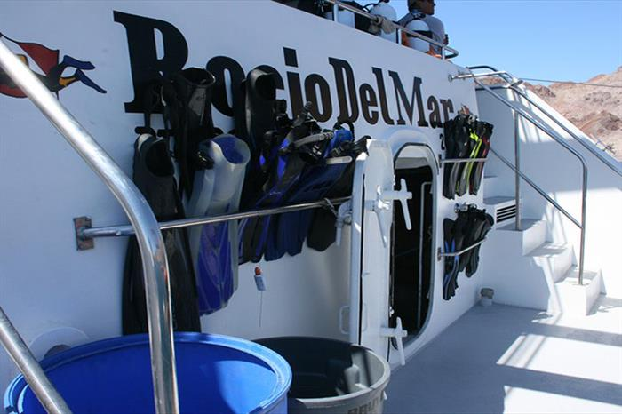Dive deck - Rocio del Mar