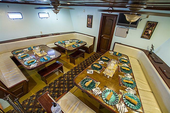 Dining area - Rocio del Mar