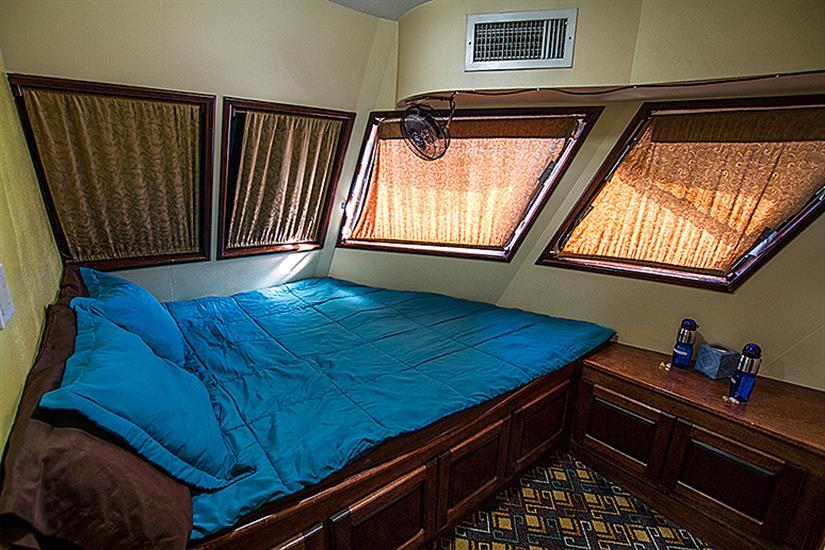 Main deck double cabin - Rocio del Mar