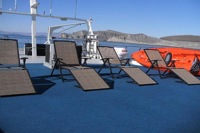 Sun deck - Rocio del Mar