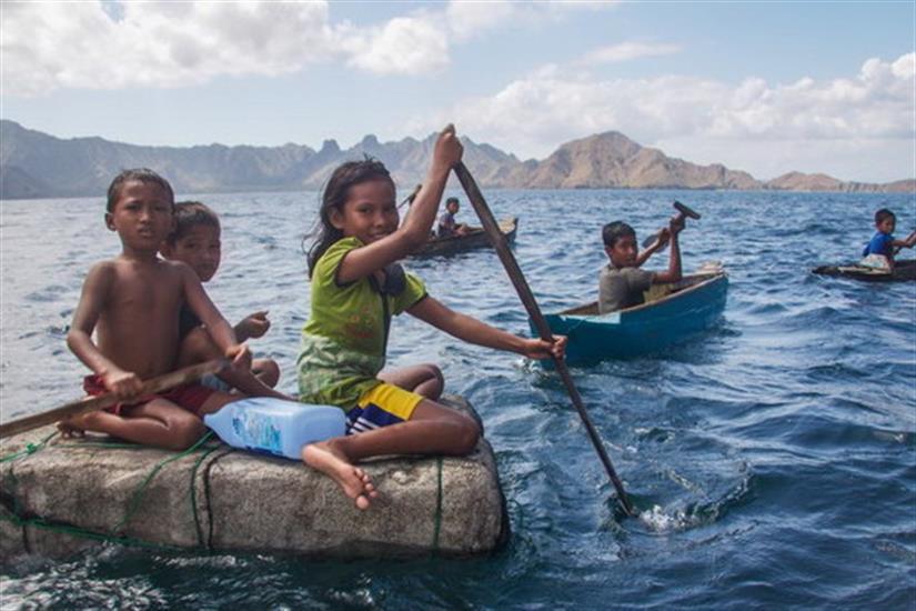 Kids of Komodo, Indonesia