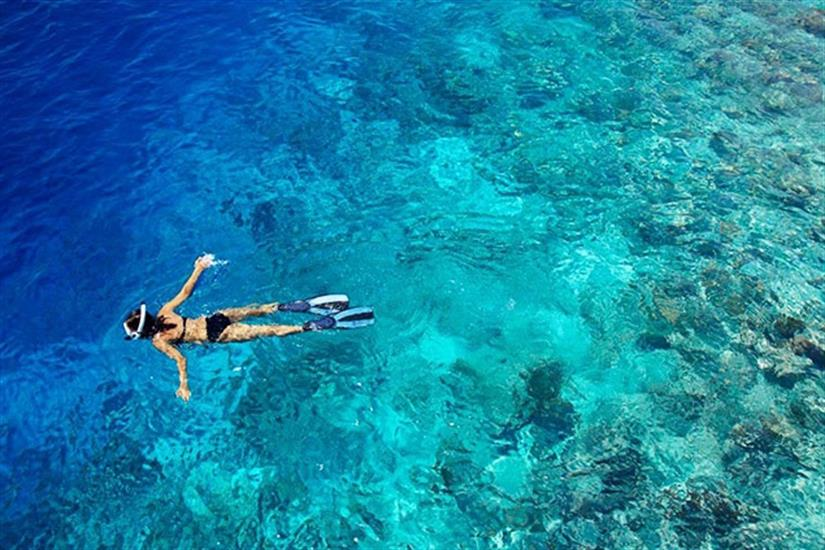 Crystal clear waters, Indonesia