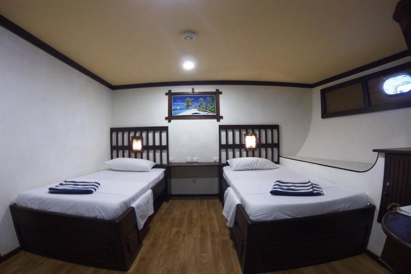 Standard Twin Cabin - Sachika Liveaboard