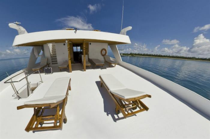 Lounge Deck - Moonima Liveaboard