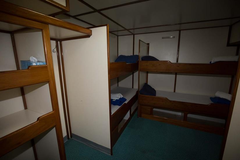Lower Deck Quad Cabin