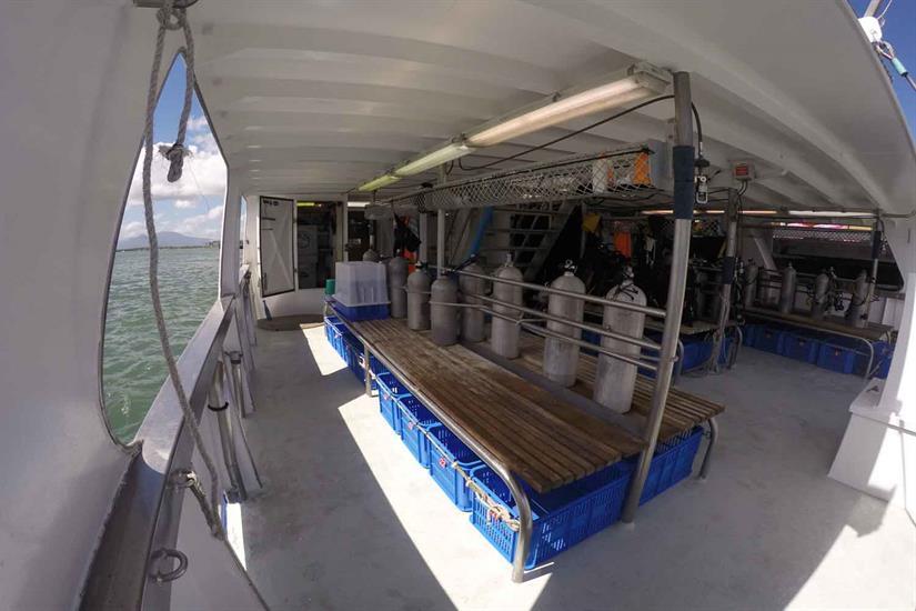 Taka Liveaboard Dive Deck