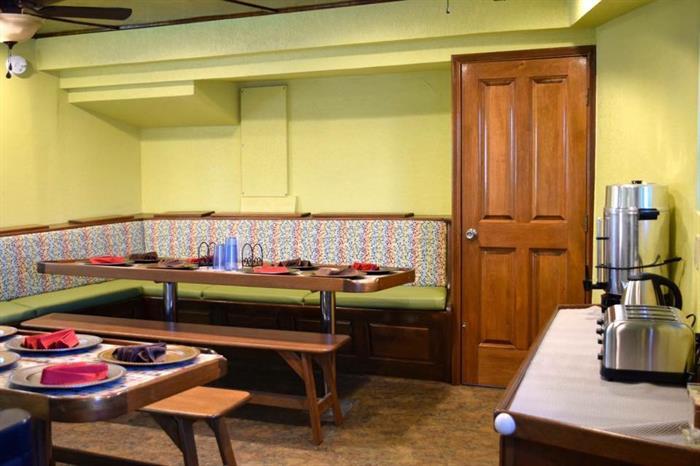 Dining area - Quino el Guardian Liveaboard