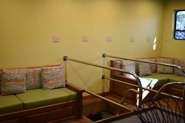 Lounge area - Quino el Guardian Liveaboard
