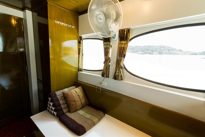 Sea View in Master cabin- MV Pawara