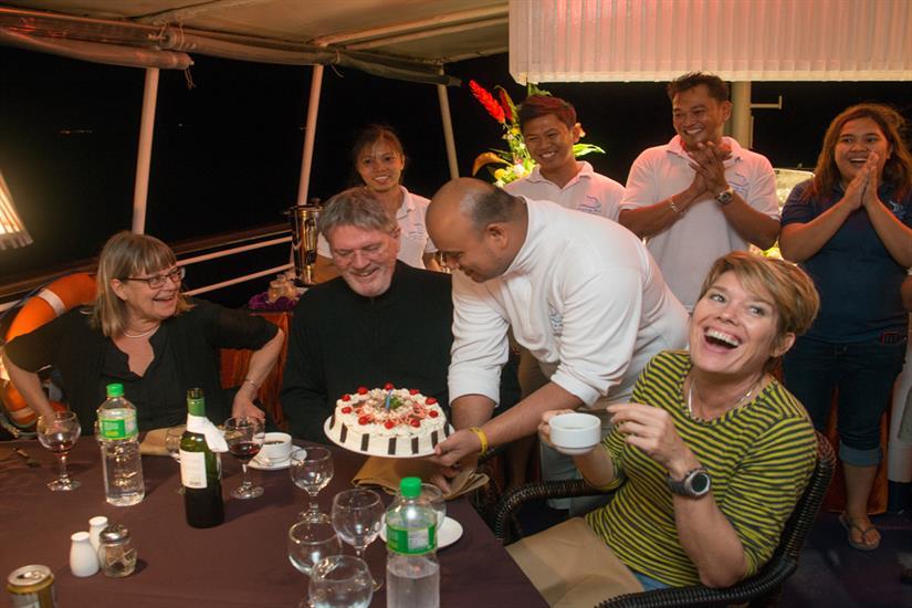Lots of fun aboard MV Discovery Palawan