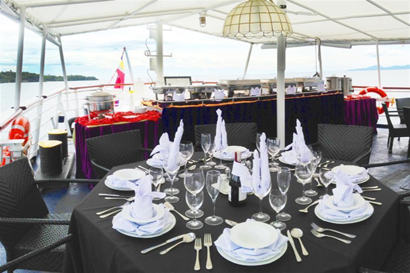 Dining area - MV Discovery Palawan